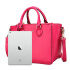 Seven wolves SEPTWOLVES new women's handbags fashion trend simple wild ladies handbag shoulder bag rose red 2A5355101-37
