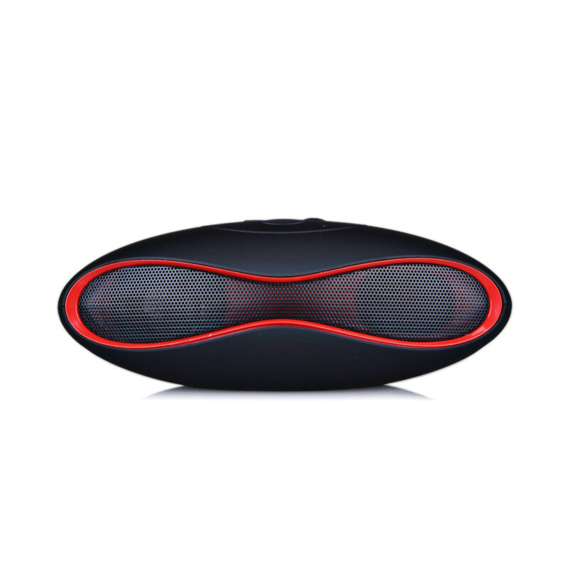 MINI Sound Rugby Football Wireless Bluetooth Speaker AUX USB Portable Audio Player Music for phone Computer Subwoofer