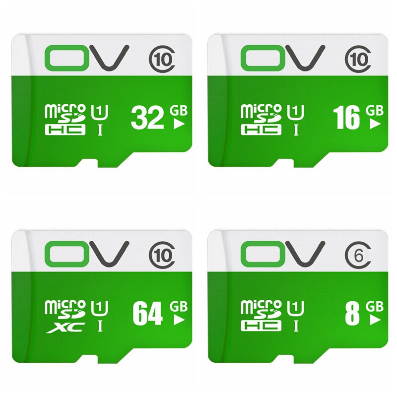 OV Micro SDHC Memory Card Class 10 UHS-1 Water Resistant / X-ray Proof / Antimagnetic