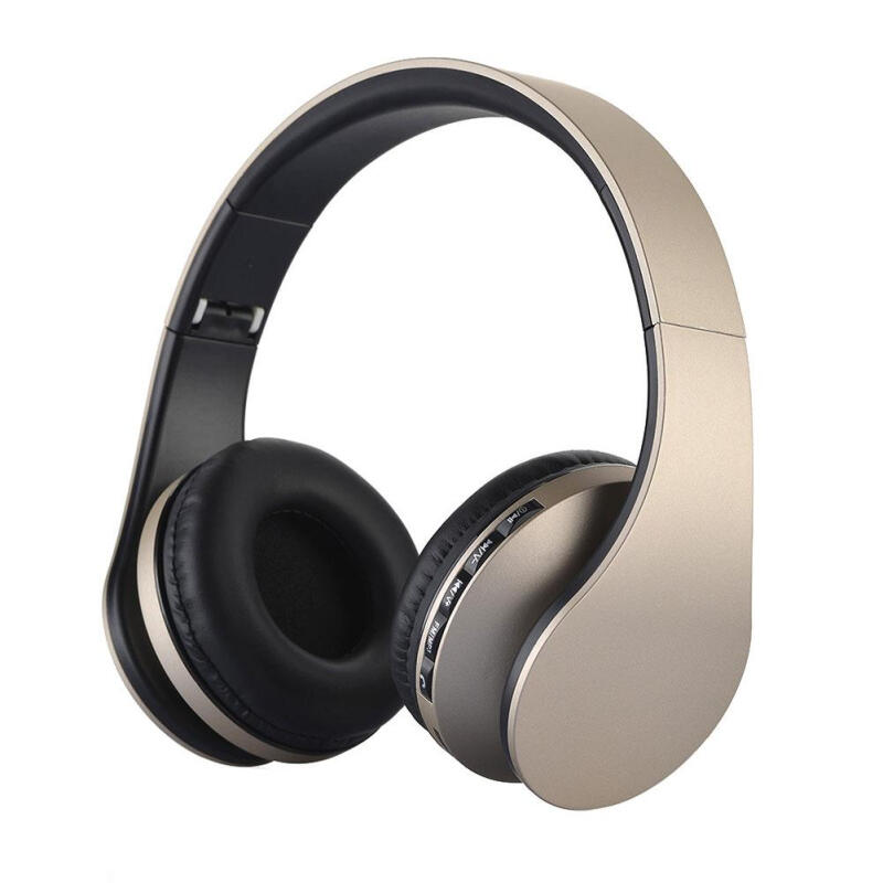 Bluetooth Foldable Headset Stereo Earphones BT3.0 For iPhone Android Samsung