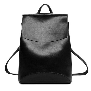 Fashion women PU  Leather  Backpack  packsack Waterproof Leather Travel Bag Notebook Rucksack