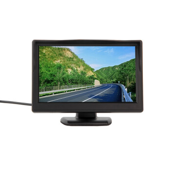 "New 5"" 800*480 (no 320*240) Car TFT LCD Monitor Screen 2ch Video"