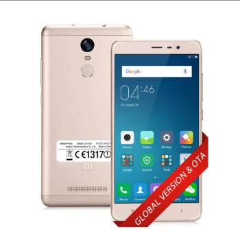 [Official Global Special Version] Xiaomi Redmi Note 3 Pro Support OTA 3GB/32GB Smartphone 64bit Qualcomm Snapdragon 650 Hexa Core