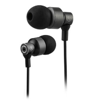 3.5mm Wired In-Ear Stereo Headphone/Earphone Earbud for Laptop PC MP3 MP4 Black