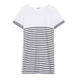 Dresses-CANIS@2015 Summer Women's Short Sleeve Strips Casual Loose Mini Dress on JD