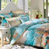 Bedding & Bath-Jiuzhou deer textile cotton four set on JD