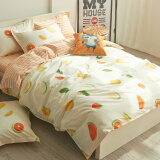 Home textiles-Jiuzhou deer textile cotton four sets of bedding on JD