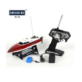 Remote Control Toys-F12029 SHUANGMA 7009 4CH Remote Control Boat High Speed RC Boat with Retreat Function Color Red on JD