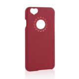 All Categories-Ultra Slim Cute Love Heart Phone Case Cover Skin For Apple iPhone 5S  WINE RED on JD