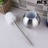 Kitchen & Bath Fixtures-KES Toilet Brush with Holder Stainless Steel Brushed Finish, BTB200-2 on JD