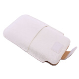 All Categories-White Faux Leather Phone Case Cover Skin Bag Pouch For Samsung Galaxy i9200 on JD