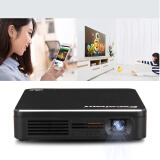 Home Audio & Video-Excelvan EHD200 Pocket Mini DLP LED Projector 854x480 80 LUMENS on JD