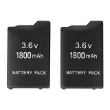 Gaming & Accessories-] 2x New 1800mAh 3.6V Rechargeable Battery Pack For Sony PSP 1000 Free Shipping on JD