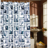 Bedding & Bath-MyMei 180cm*180cm 71 inch Waterproof Mouldproof Marilyn Monroe Shower Curtain European Style 96013 on JD