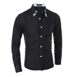 Casual Shirts-Zogaa New Men's Shirt Long Sleeve Slim Casual Fashion on JD
