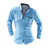 Casual Shirts-Zogaa New Men's Shirt Business Casual Long Sleeve on JD