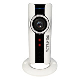 Наблюдательное оборудование-HOSAFE SVR1MW1 720P Wi-Fi 180 Degree Fisheye Panoromic VR IP Camera Support TF Card Night Vision, Motion Detection, Two Way Speak on JD