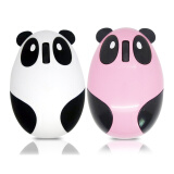 Клавиатуры и Мыши-MyMei 1pcs Panda Recharge Mouse Mouse Mouse Mat Office gift for computer White Hot Pink on JD
