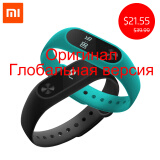 Phone Accessories-Original Xiaomi Mi Band 2 Miband Band2 Wristband Bracelet with Smart Heart Rate Fitness Tracker Touchpad OLED Strap on JD