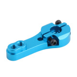 Remote Control Toys-New CNC Aluminum Servo Horn Arm 25T For Futaba Standard Servos 25T Blue on JD