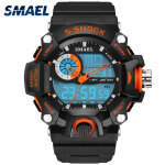 Men's Watches Мужские часы Relojes para Hombre-SMAEL Watches Men Military Mens Watch Reloj Electronic Led Sport Wristwatch Digital Male Clock S Shock Sport Watch Men on JD
