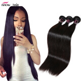 Hot Sell Malaysian Virgin Hair Straight 3 Bundles Malaysian Straight Virgin Hair Unprocessed Malaysian Hair Cheap Human Hair Weav