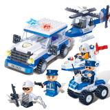 Banbao Building Blocks, Small Particle Policeman and Firefighter Series