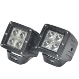"KAWELL 2 pack LED Work Light 3.2"" Inch 16W CREE spot Lamp for Motorcycle Tractor Truck Trailer SUV Off roads Boat 4WD 4x4"