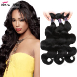 Good Malaysian Virgin Hair Body Wave 3pcs/lot Human Hair Weave Bundles Unprocessed Malaysian Body Wave Virgin Hair Joybuy Ishow Ha