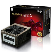 PC Power Supplies-Patriot (aigo) Rated 300W Dark Knight 450DK desktop host computer power (three years warranty / wide energy saving / support the back line) on JD