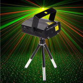 Stage Lights-Mini LED R&G Laser Projector Stage Lighting Adjustment DJ Disco Party Club on JD