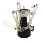 Outdoor Gear-Outdoor Picnic Butane Gas Burner Portable Camping Mini Steel Stove Case on JD
