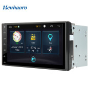 Car Electronics-Henhaoro 7' Android Car Stereo Gps Navigation Touch Screen Radio No DVD 2 DIN Resolution 1024x600 Head unit on JD
