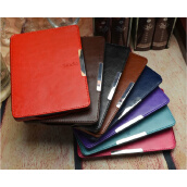 Shutters-PU leather magnetic smart cover case for Amazon kindle paperwhite 1/2/3 2013 cover case on JD