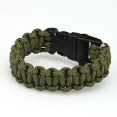 Wrap Bracelets-Outdoors Survival Rope 550 Paracord Escape Emergency Bracelet Wristband Bracelet on JD
