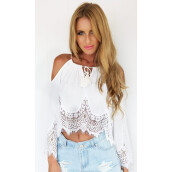 Tanks & Camis-Free Shipping 2016 Newest Fashion Summer Woman Mini Crop Tops Lace Sexy Casual Cover-ups Bathing Women's Short Tank Tops on JD