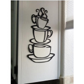Wall Stickers & Murals-poster English stikcers coffee cup wall fashion Plastic on JD
