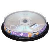Blank Disks-Philips (PHILIPS) DVD-R 16 speed 4.7G drums 10 burner on JD