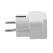 Powerline Network Adapters-Universal AU US UK to EU AC Power Plug Travel Home Converter Adapter EU Plug on JD