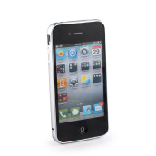 Digital Accessories-Durable Aluminium Alloy Protective Frame for iPhone 4/4S - Silver on JD