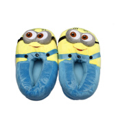 Furniture Décor-NicerDicer Minion despicable me 2 cotton Slippers Funny cartoon kawaii warm slippers in home winter indoor shoes 86666 on JD