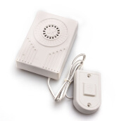 Furniture Décor-White Wired Electric Push Button Door Bell Chime Button Home New on JD