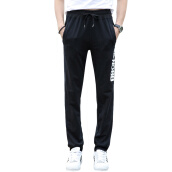 Sweatpants-(MSEK) XK3185 men's casual pants fashion casual pants knitted pants light gray M on JD