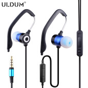Headphones-ULDUM Sport Earphones Running with Mic for MP3 player,MP4, Mobile Phones Earhook Sound Isolating Headphone for free shipping on JD