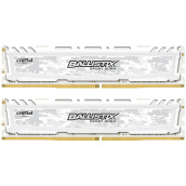 RAMs-Crucial Platinum Sport Series LT Series DDR4 2400 16G (8Gx2 Set) Desktop Memory Camouflage White on JD