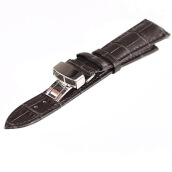 Watchbands-New Genuine Calf Leather Watch Band Strap Bracelet Stainless steel Clasp 20MM on JD