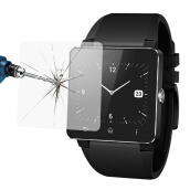 Decals-0.2mm Premium Tempered Glass Film Screen Protector For Sony SmartWatch 2 SW2 on JD