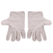 Household Cleaning and Protection Products (Gloves and Aprons)-Pair Antiskid Wear-Resistant Full Finger Canvas Working Gloves Protect on JD