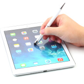 Capacitance Pen-Crystal 2 in1 Touch Screen Stylus Ballpoint Pen for iPhone iPad Smartphone on JD