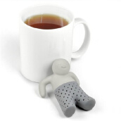 Coffee, Tea & Espresso-Cute Mr.Tea Infuser Silicone Tea Leaf Strainer Herbal Spice Filter Diffuser 460003 on JD